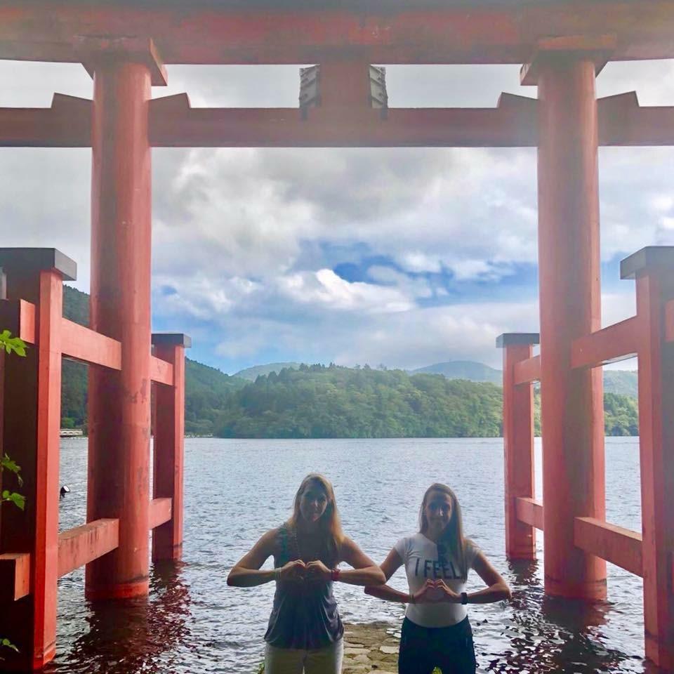 Hakone shrine zomer